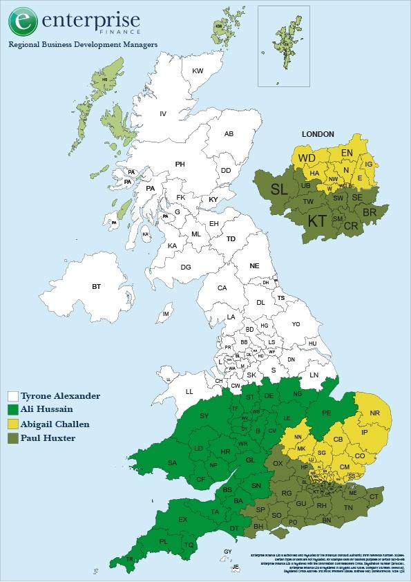 BDM allocation map