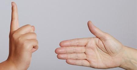 refusing handshake